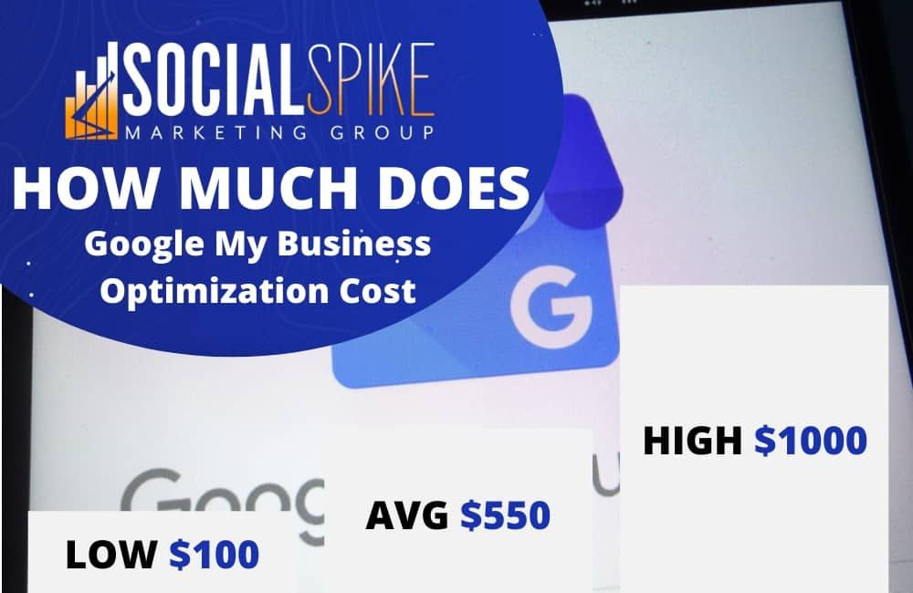 how much does google my business optimization cost