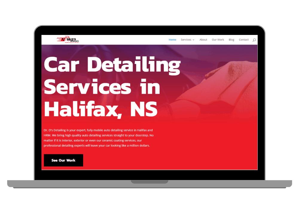 Car Detailing Website Case Study