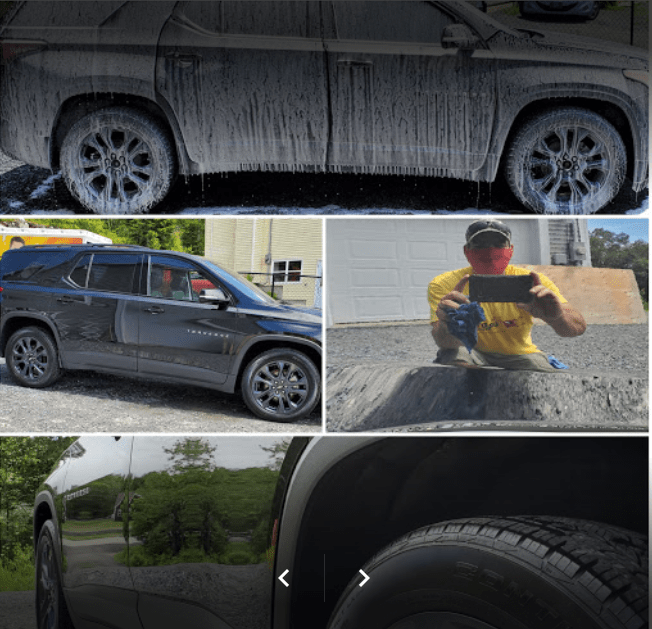 Car Detailing Website Design Client Testimonial