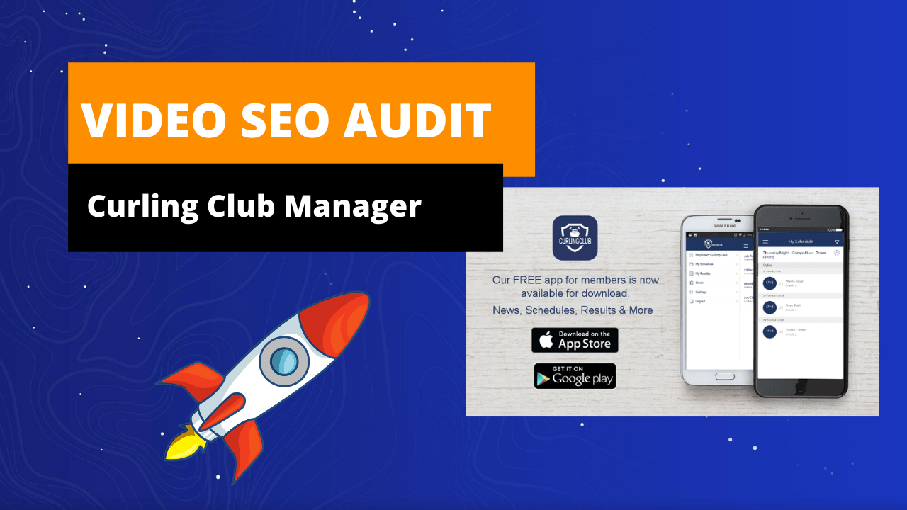 Video seo audit - curling club manager - Software SEO - Social Spike Marketing Group - Halifax